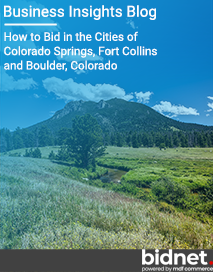 How to Bid in the Cities of Colorado Springs, Fort Collins and Boulder, Colorado