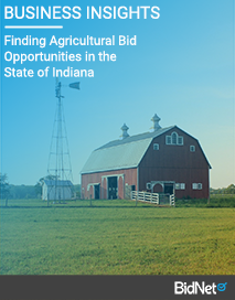 Finding Agricultural Bid Opportunities in the State of Indiana