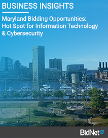 Maryland Bidding Opportunities: Hot Spot for Information Technology & Cybersecurity