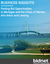 Finding Bid Opportunities in Michigan and the Cities of Warren, Ann Arbor and Lansing