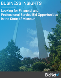 Looking for Financial and Professional Service Bid Opportunities in the State of Missouri