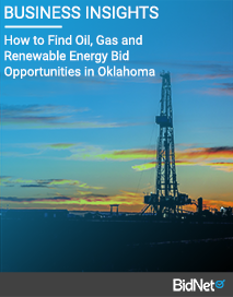 How to Find Oil, Gas and Renewable Energy Bid Opportunities in Oklahoma