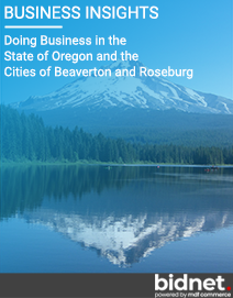 Doing Business in the State of Oregon and the Cities of Beaverton and Roseburg