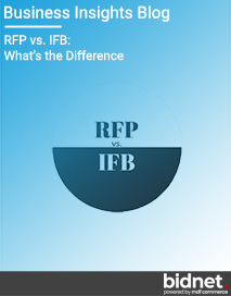 Blog: RFP vs. IFB: What's the Difference?