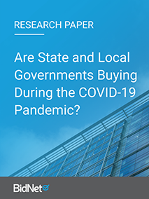 Are State and Local Governments Buying During the COVID-19 Pandemic?