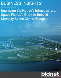 Improving the Nation's Infrastructure: Space Florida's Grant to Rebuild Kennedy Space Center Bridge