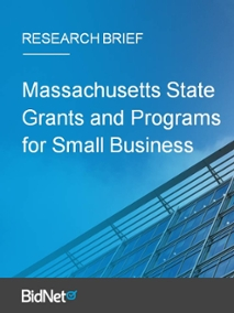 Massachusetts State Grants and Programs for Small Business