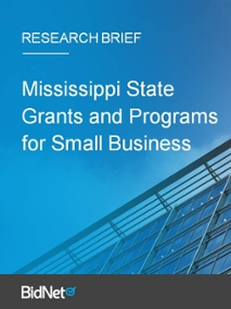 Mississippi State Grants and Resources for Small Business