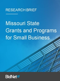 Missouri State Grants and Programs for Small Business