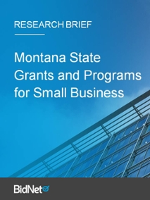 Montana State Grants and Programs for Small Business