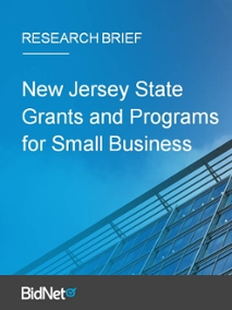 New Jersey State Grants and Programs for Small Business