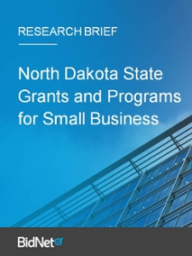 North Dakota State Grants and Programs for Small Business