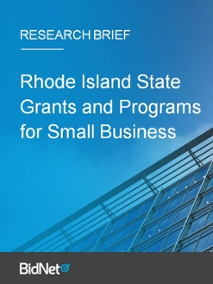 Rhode Island State Grants and Programs for Small Business