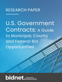 U.S. GOVERNMENT CONTRACTS: A Guide to Municipal, County and Federal Bid Opportunities for SMBs